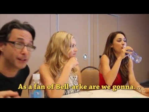 The 100 cast talking about Bellarke and Clexa