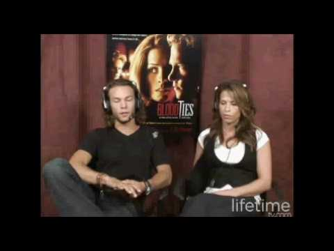 Christina Cox and Kyle Schmid 1
