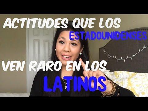 Actitudes Que Los ESTADOUNIDENSES Ven Raro ,extraño En Los LATINOS!