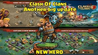 Clash Of Clans Another big update, New World, New hero, Gem mine and more | COC New Update