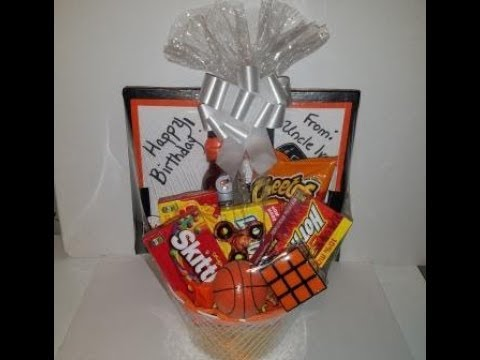 Gift Basket Idea For Pre Teen Boys