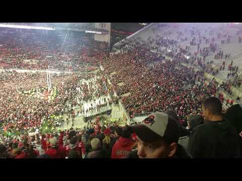 Ohio State Buckeyes beat PSU, ending Sweet Caroline O-H-I-O