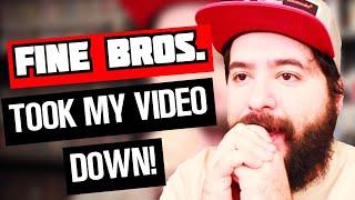 Fine Bros. took down my Reaction Video. | 8-Bit Eric