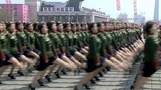 Nordkorea feiert - und droht