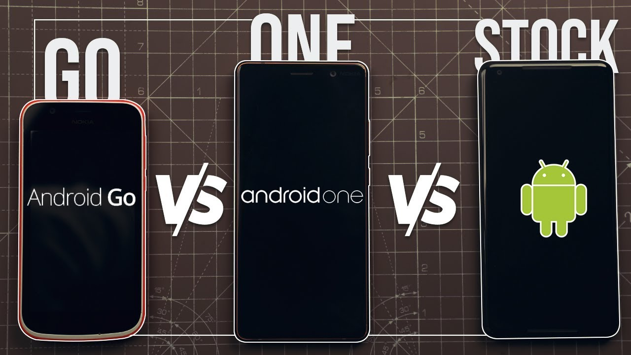 Stock Android vs Android One vs Android Go: Which Android Is