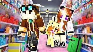 COMPRO IL MATERIALE PER LA SCUOLA DI MIA FIGLIA!! - Casa di Minecraft #59