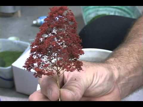 MAKING FALL N-SCALE TREES.wmv