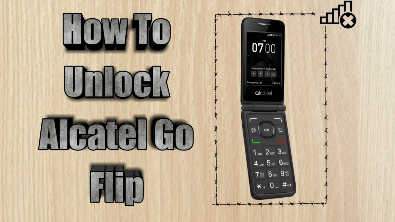 How to unlock Alcatel Go Flip | Sim Unlock Alcatel Go Flip