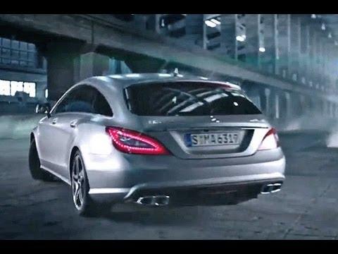 jp testet - mercedes cls amg shooting brake - youtube