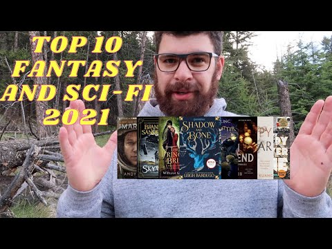 TOP 10 FANTASY AND SCI-FI BOOKS 2021, BOOK RECOMMENDATIONS