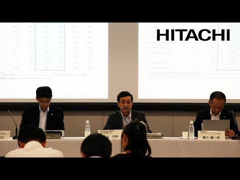 Meeting for Institutional Investors / Financial Analysts on Q1 FY2017 Earnings - Hitachi