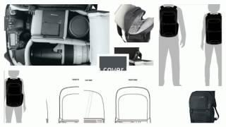 pacsafe camsafe v25 anti theft camera backpack luggagefacto