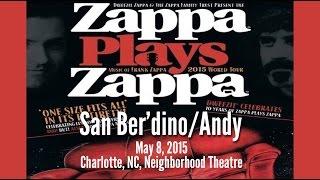 ZAPPA PLAYS ZAPPA (2/5) - San Ber