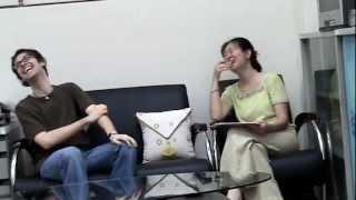 Meet the Teacher 'Barry' - Interview by Shu-I [ESL / EFL Listening Activity] Bloopers NG