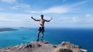 HIKING A 1,OOOFT CLIFF IN HAWAII!!