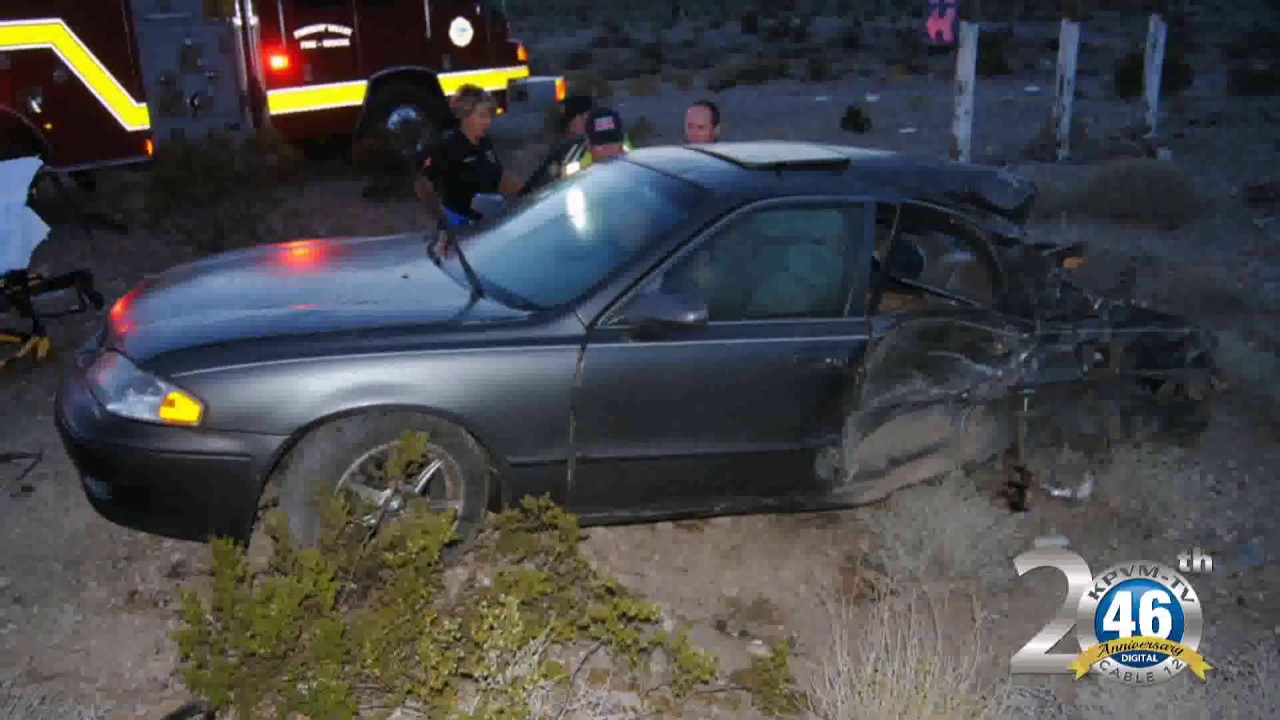 05/16/2017 Two Vehicle Accident | Highway 160 & US 95