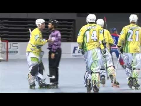World Champ. Inline-Hockey France 2014, Brazil-Russia 1st part