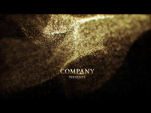Golden Titles After Effects Templates