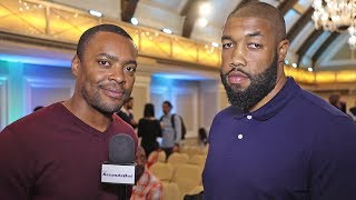Chazz Witherspoon from CAR SALESMAN to HEAVYWEIGHT CONTENDER! vs USYK