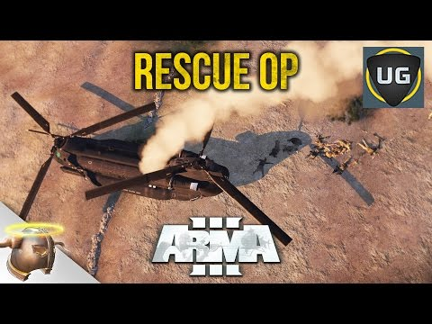 "ARMA 3 SEARCH & RESCUE: ""No Wraith's Sky"" custom co-op mission"