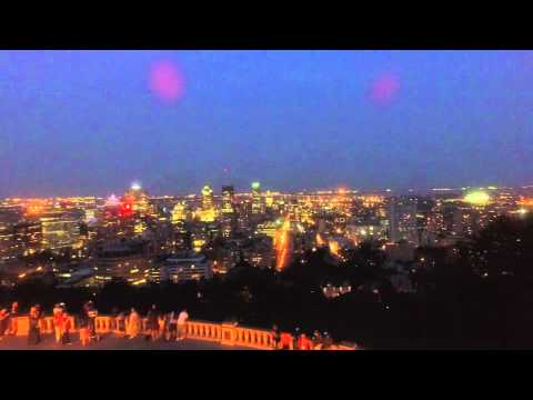 Montreal Night view