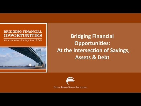 Bridging Financial Opportunities: At the Intersection of Savings, Assets & Debt - Ray Boshara
