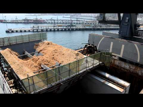 Woodchip Carrier Discharge Operations