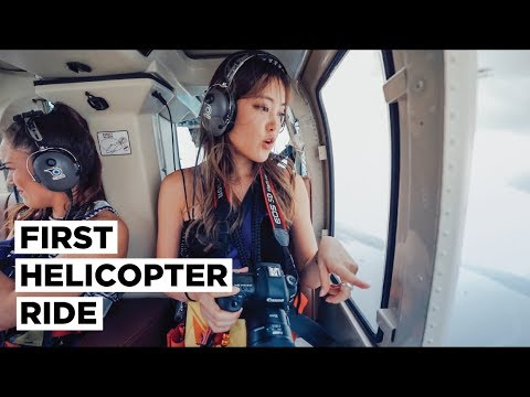 Flying Over NEW YORK CITY in a Helicopter