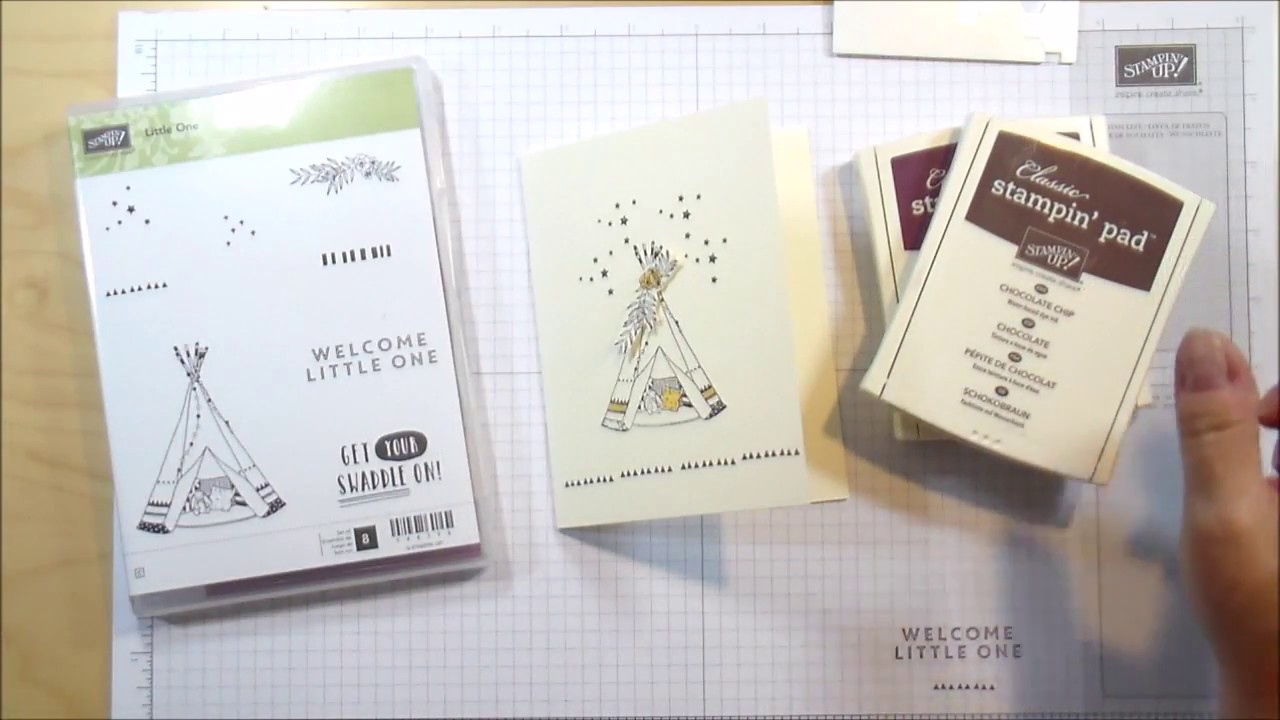 Welcome Little One Stampin Up Stamp Set
