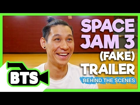 Thumbnail: Filming Space Jam with Jeremy Lin! (BTS)