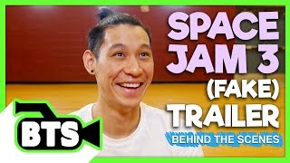 Filming Space Jam with Jeremy Lin! (BTS)