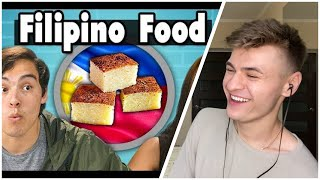 REACTION to Filipino Food - Teens Try Filipino Food | People Vs. Food