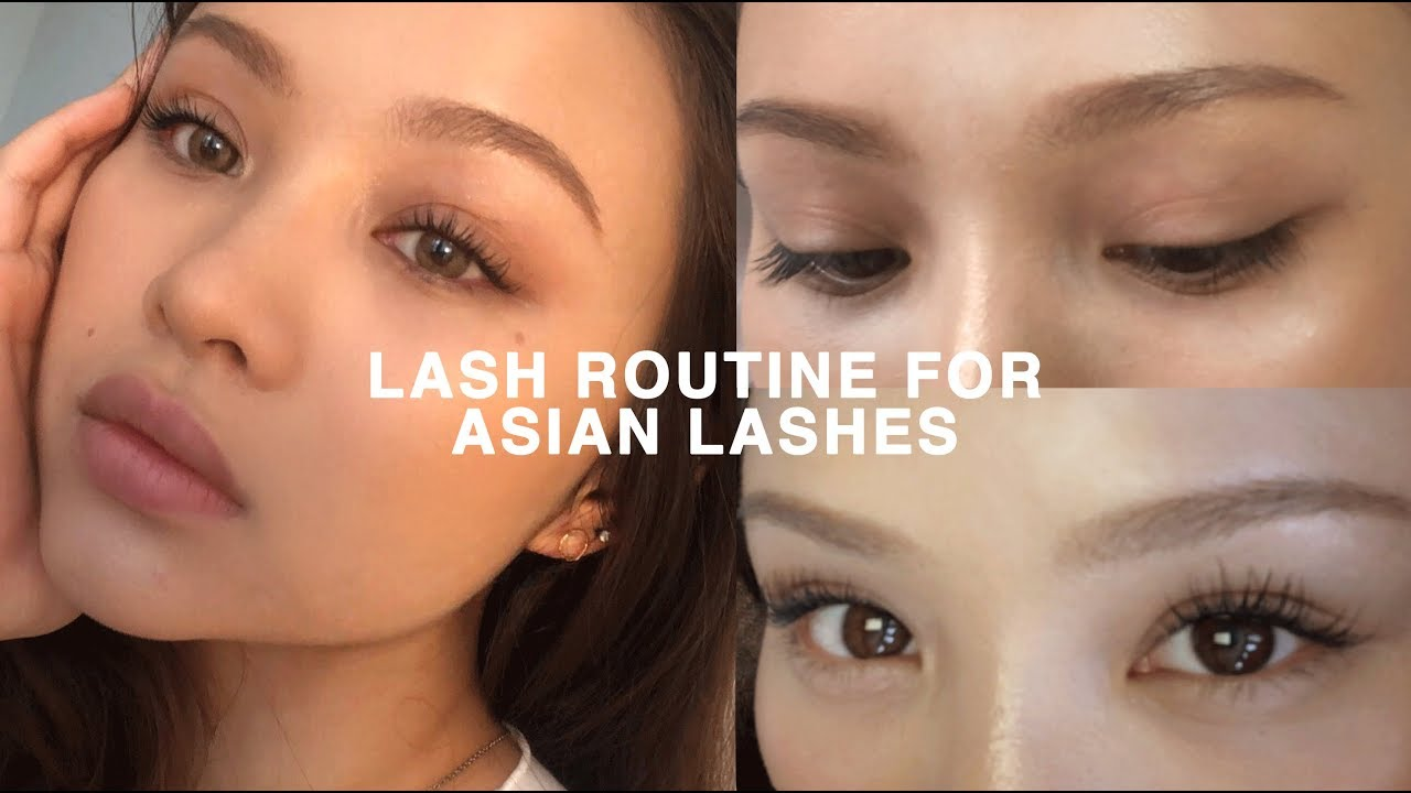 28cc32a0448 LASH ROUTINE FOR STRAIGHT ASIAN LASHES (CURLED ALL DAY) - YouTube