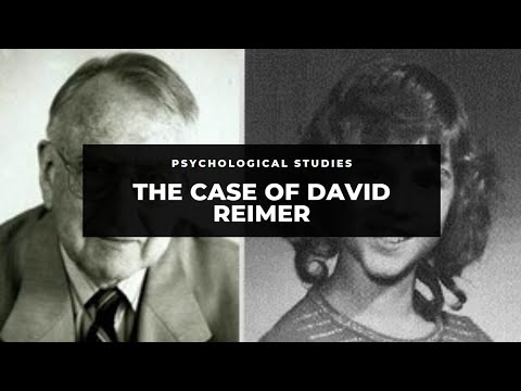 david reimer psychology paper essay My personality traits 3 pages 641 words february 2015 saved essays save your essays here so you can locate them quickly topics in this paper psychology personality psychology sigmund freud trait theory california.