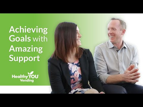 Healthy YOU Vending Review - Achieving Goals with Amazing Support