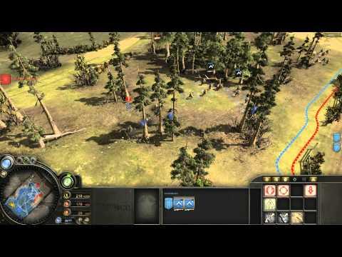[COH] Company of Heroes 2vs2 Multiplay America 3
