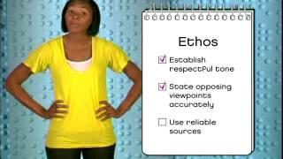 Rhetoric ethos logos pathos