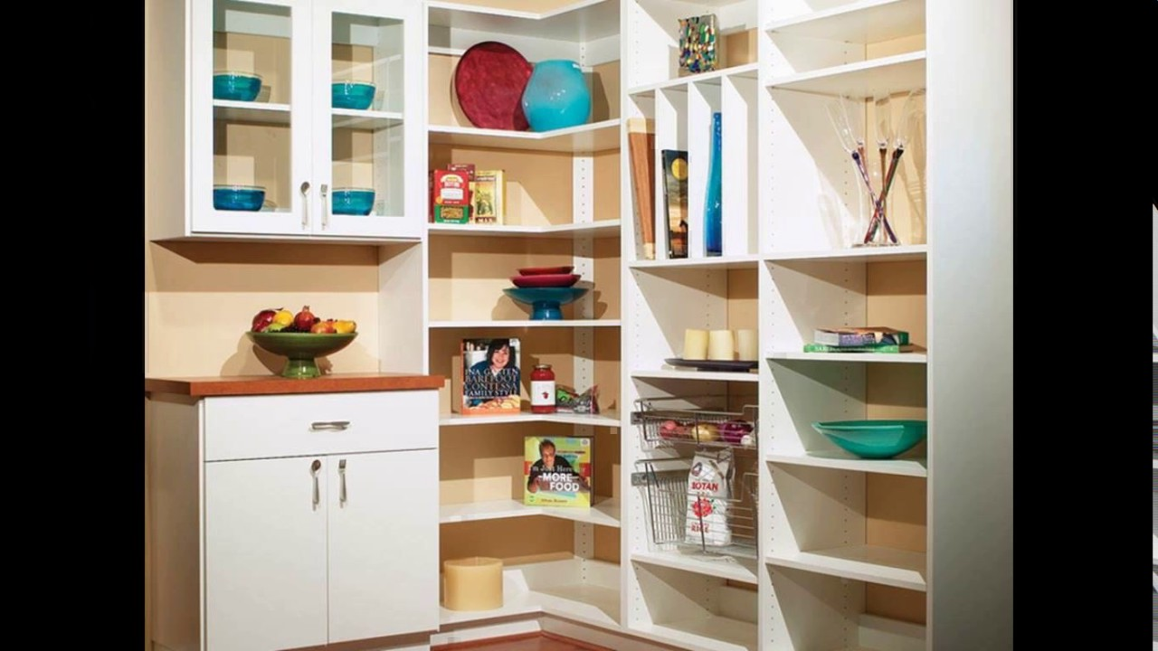 Kitchen Corner Pantry Design Ideas