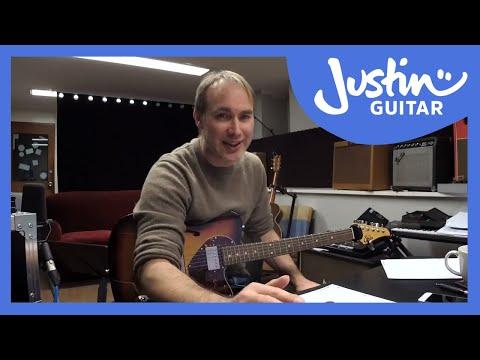Some live blues jammin practice!