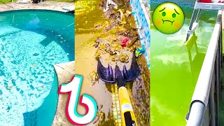 Pool Cleaning TikTok Compilation 2