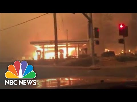 Paradise Resident Films Escape As Camp Fire Destroys Town | NBC News