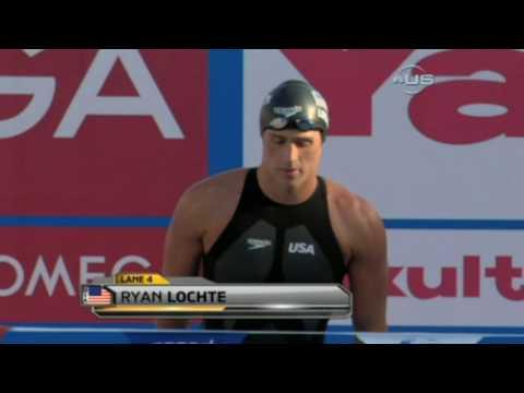 Ryan Lochte breaks medley record, from Universal Sports