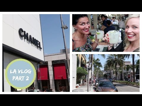 RODEO DRIVE, COCKTAILS, SHOPPING & A LITTLE WORK!