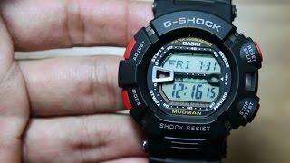 Casio G-shock Mudman G-9000-1 Tough and Mud resist