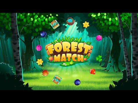"""Игра """"Три в ряд в лесу"""" (Forest Match) - прохождение"""
