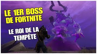 HOW TO BEAT THE ROI OF THE TIME - 1st boss of FORTNITE Save the World