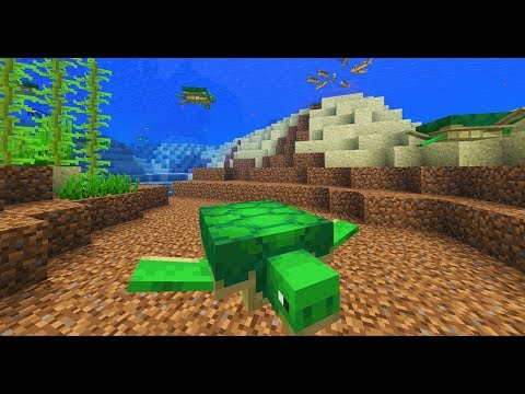 Trying the Minecraft 1.13 Aquatic Update for the first time