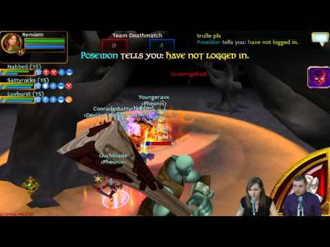 Pronoobs Vs. UpYourAssault   Cupid's Clash Lvl 15 Tournament   Arcane Legends