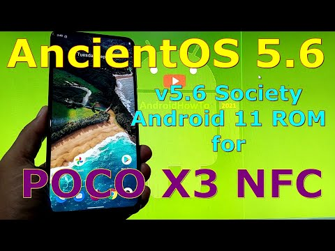 AncientOS 5.6 Society for Poco X3 NFC (Surya) Android 11