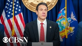 Watch live: New York Governor Andrew Cuomo gives coronavirus update